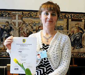 Ольга сертификат, Гид в Таллине